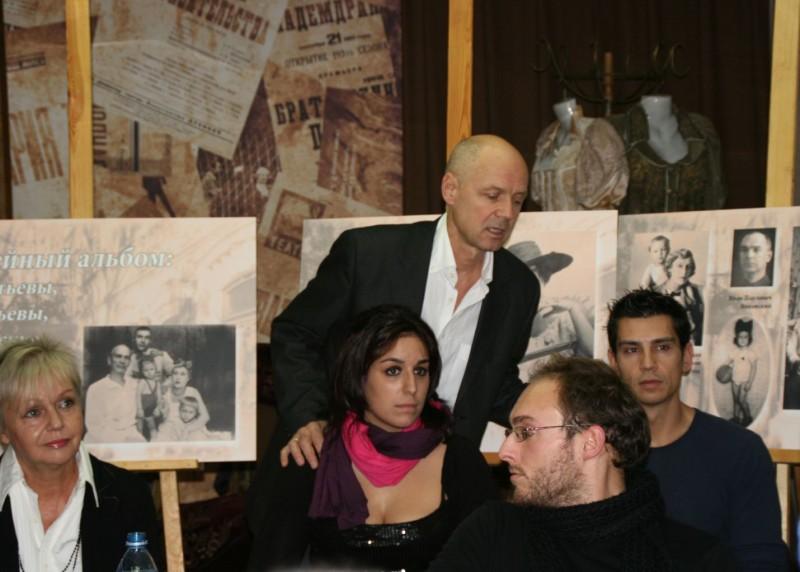 Альгис Арлаускас и Марина Шиманская с учениками
