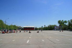 Площадь Ленина. Энгельс. 2012
