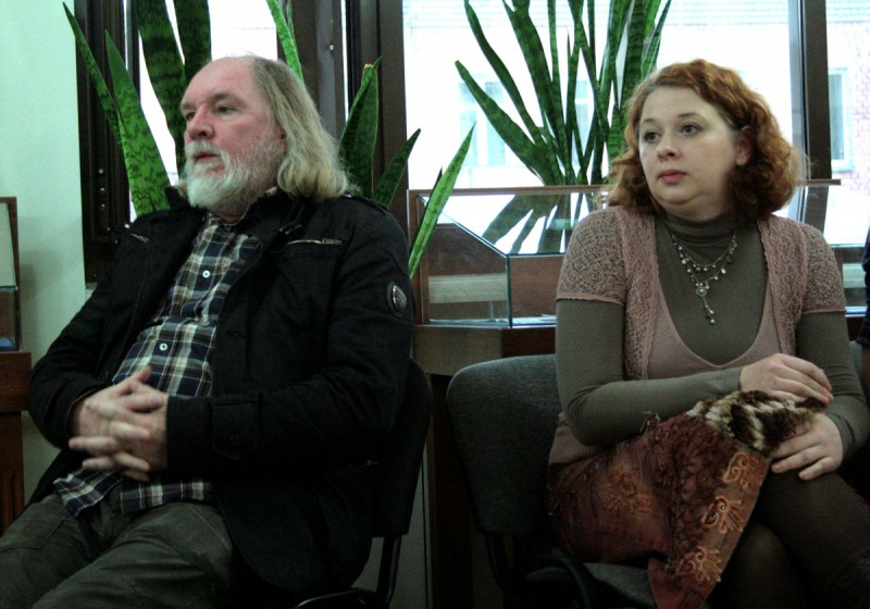 Олег Лоевский и Елена Краснова