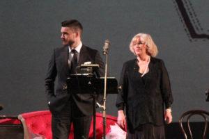 Максим Матвеев и Ольга Остроумова