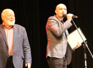 Алексей Логачев на вручении премии «Золотой Арлекин»
