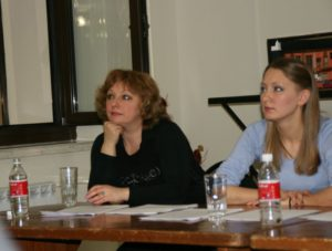 Ольга Кутина и Анна Соседова