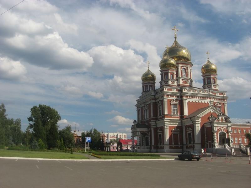 Сквер Покровского собора