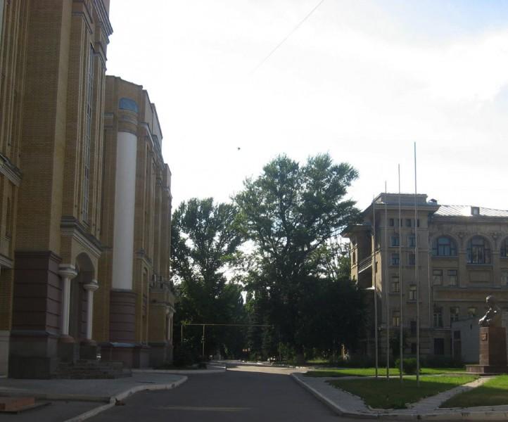 Сквер СГУ