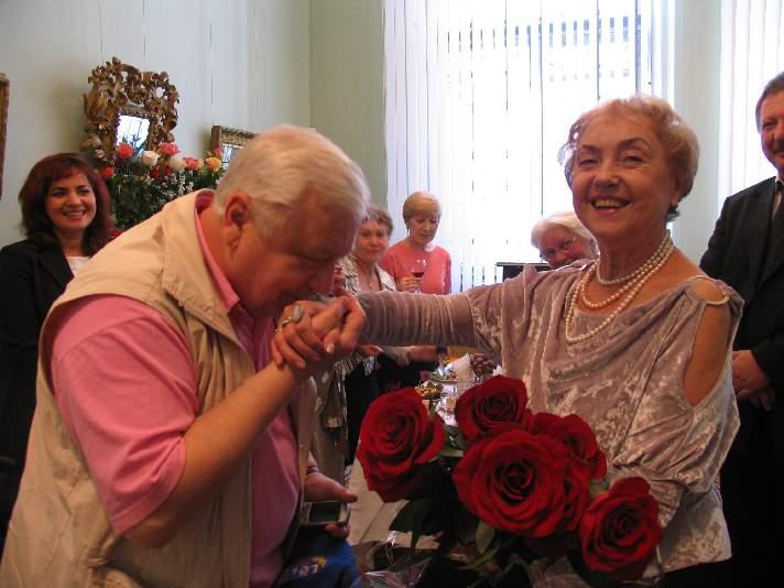 Тамара Гродскова и Олег Табаков