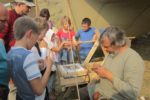Один день из жизни средневекого города Укека-2015