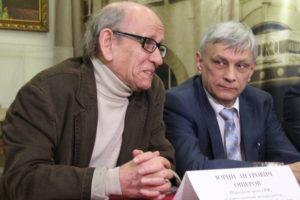 Юрий Ошеров и Андрей Коржиков