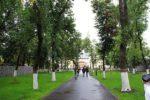 Парк перед театром