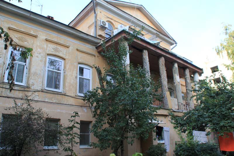 Дом князя И.М. Баратаева. фронтальный вид