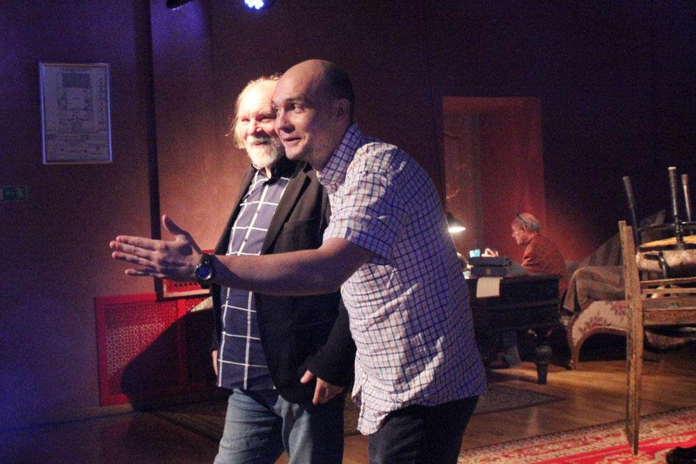 Олег Лоевский и Алексей Логачев. Четвертая высота.