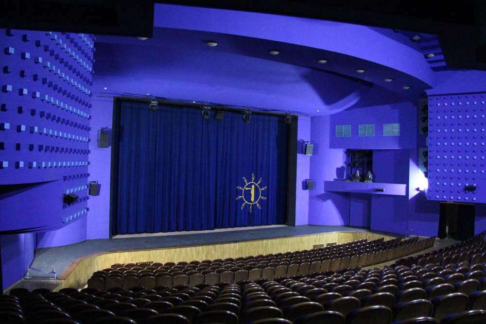 Зрительный зал нового ТЮЗа