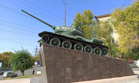 Памятник танкистам в Саратове