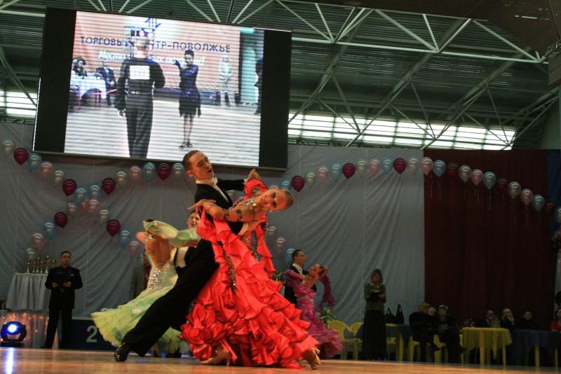 В Саратове состоялись Всероссийские соревнования по спортивным бальным танцам