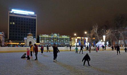 Каток на Театральной площади