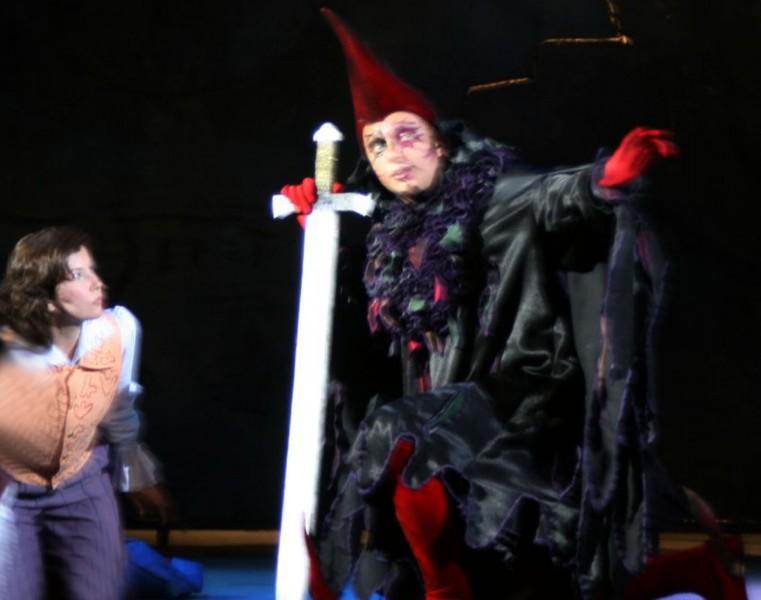Опера-мюзикл «Черная курица» на сцене саратовского оперного