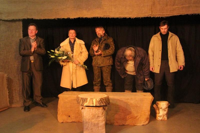 Юрий Лапшин представил эскиз спектакля «Охота жить»