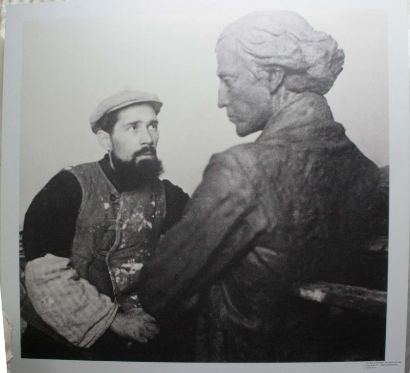Выставка памяти скульптора Кибальникова открылась в галерее Фомичева