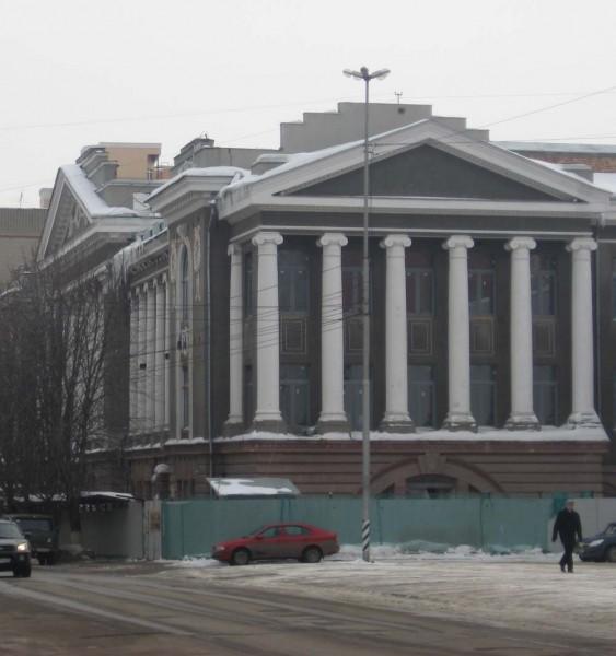 Художественный музей имени А.Н. Радищева. Гимназический корпус