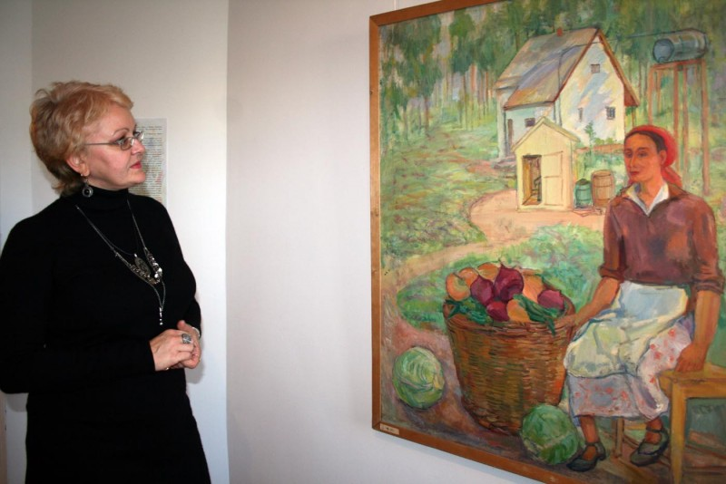 В Доме Павла Кузнецова открылась выставка «Сады»