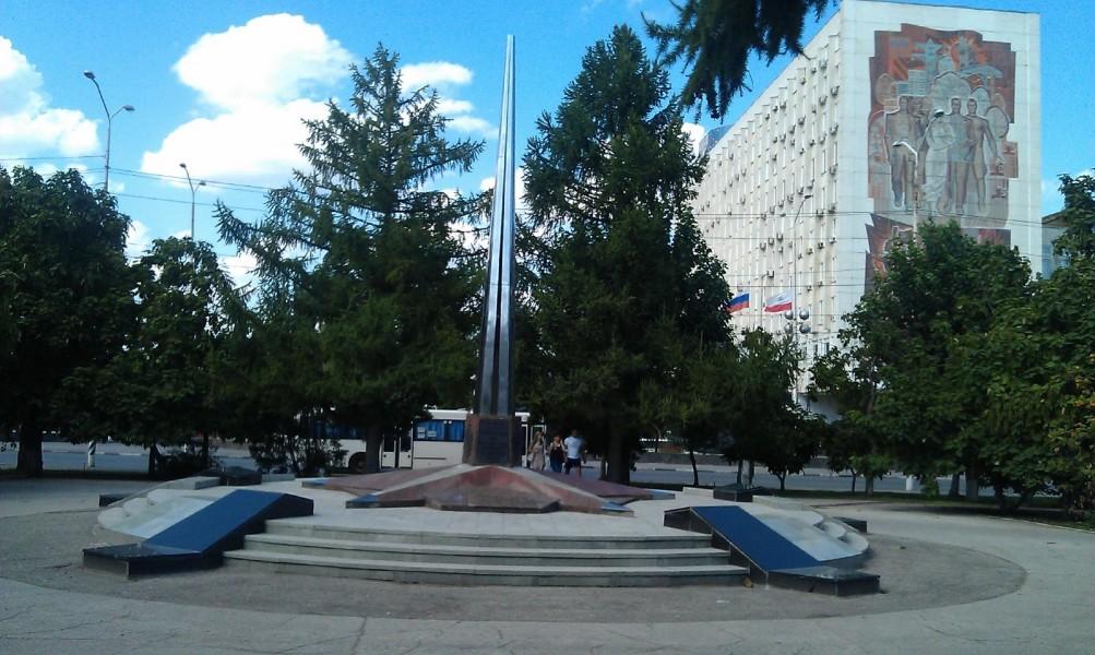 Памятник воинам МВД, погибшим при исполнении служебного долга