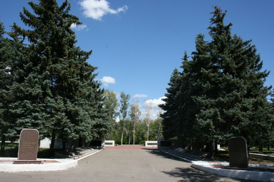 Мемориальный комплекс бойцам, умершим от ран в саратовских госпиталях