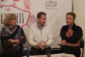Ольга Остроумова, Евгений Миронов и Мария Миронова