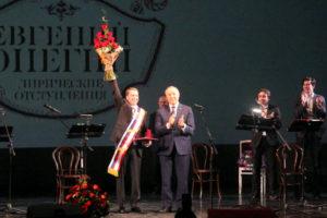 Евгений Миронов и Валерий Радаев