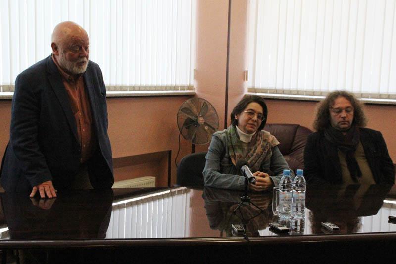 Григорий Аредаков, Марина Глуховская, Юрий Наместников