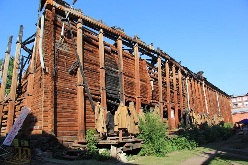 Второй фестиваль «Хвалынские этюды К.С.Петрова-Водкина» начался Арт-тестом складов Рейнеке