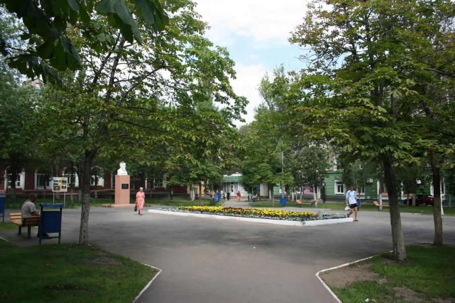 Сквер им. М.И. Калинина