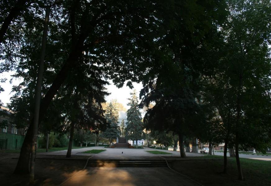 Сквер героев-краснодонцев