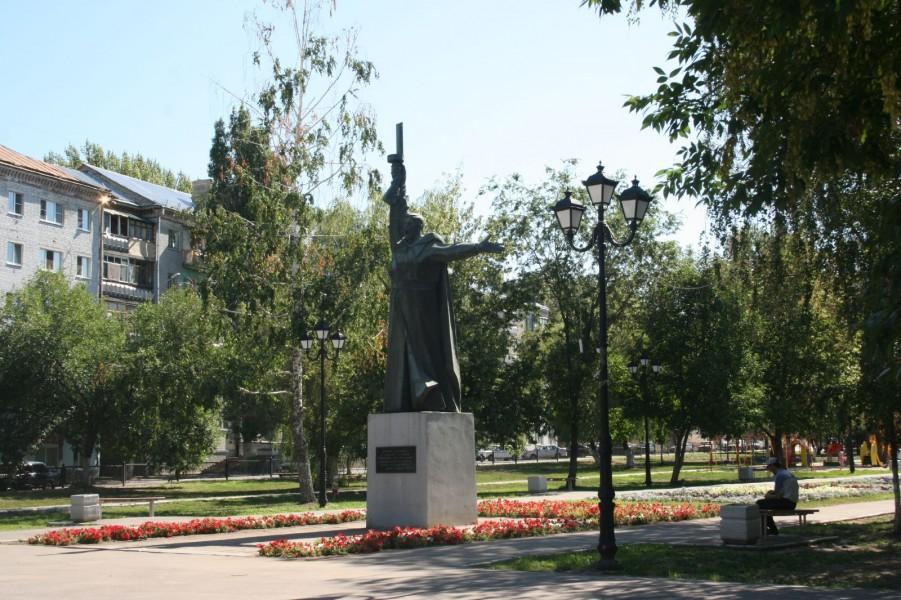 Памятник воинам-саратовцам