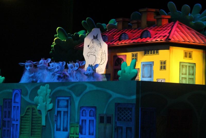 Волк и семеро козлят — премьера в «Теремке»