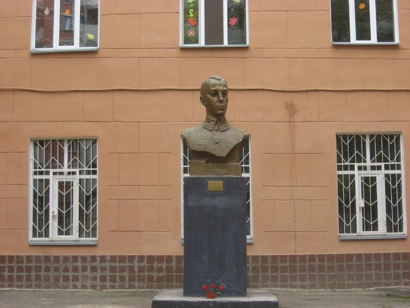 Памятник генералу Карбышеву Д.М.