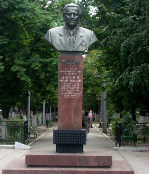 Памятник Н.В. Цицину