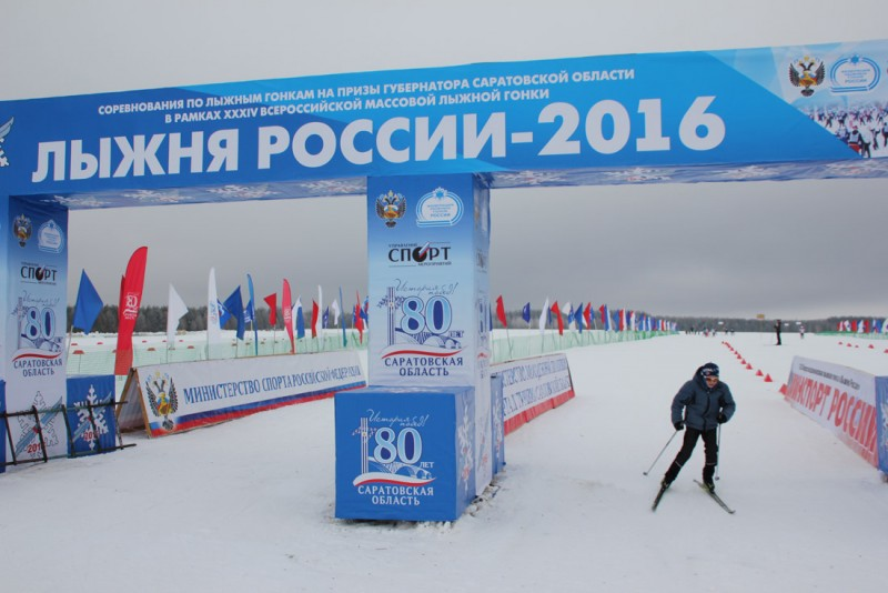 Лыжня России-2016 в Базарном Карабулаке: Все готово к старту