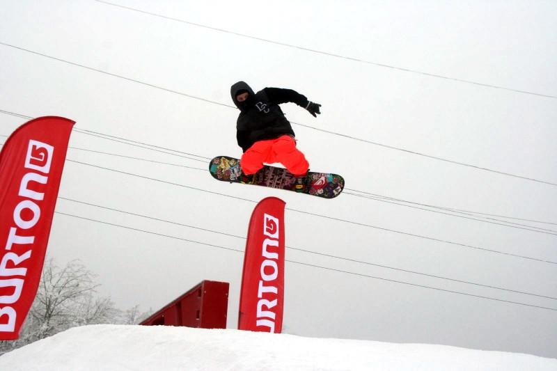 В Burton Park пройдет чемпионат области по сноуборду