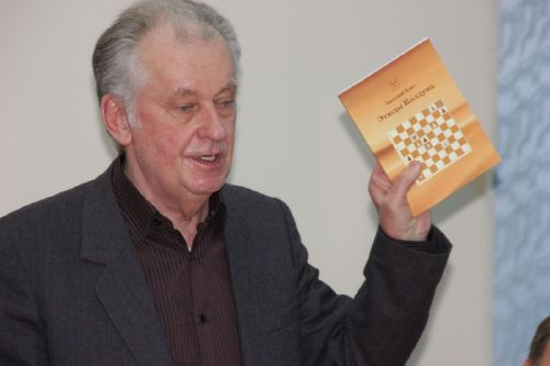 В шахматном клубе презентовали «Этюды Колдуна»
