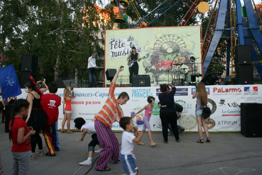 Праздник Музыки в Саратове