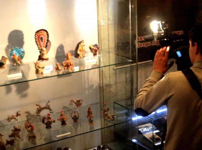 Глиняная карусель в музее краеведения