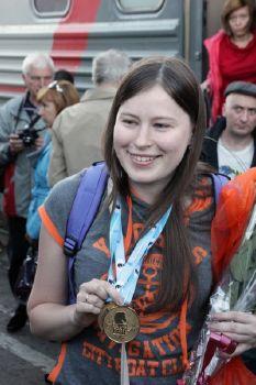 Наталья Погонина выиграла первую партию 43-ей Всемирной шахматной Олимпиады
