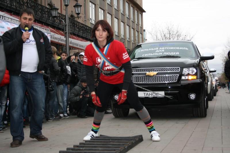 Анна Глушко установила национальный рекорд
