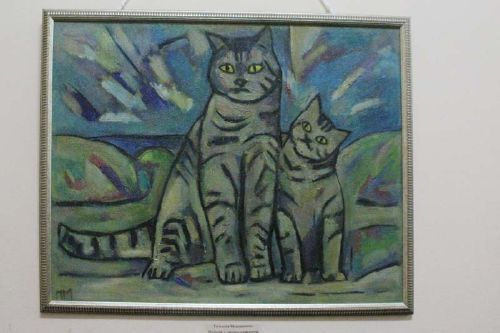 Первая выставка Татьяны Мошниковой открылась в Радищевском музее