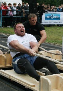 Команда России стала сильнейшей в турнире по силовому экстриму
