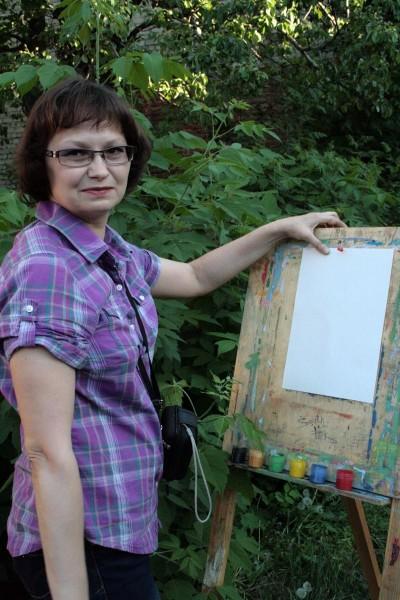 Элеонора Белонович. Ночь музеев-2012 в Саратове