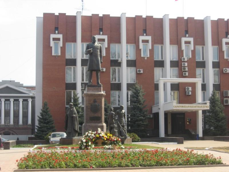 В Саратове состоялось возложение цветов к памятнику Столыпину