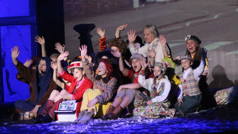 В Старом ТЮЗе прошла премьера мюзикла «Винни Пух»