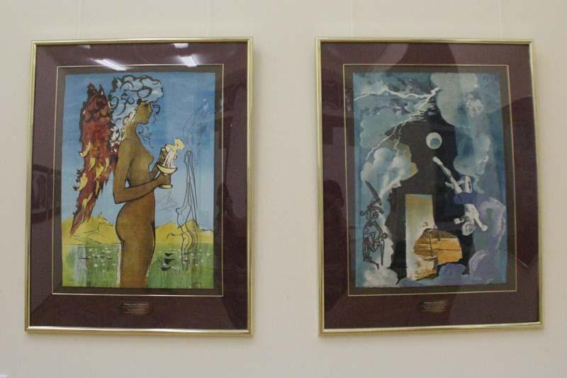 Тайнопись Сальвадора Дали в Радищевском музее