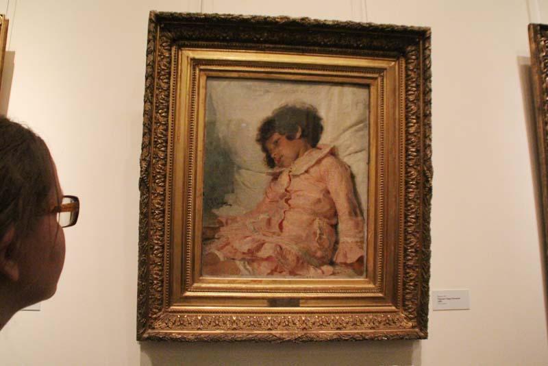 Впервые на выставке в Саратове 50 шедевров Репина