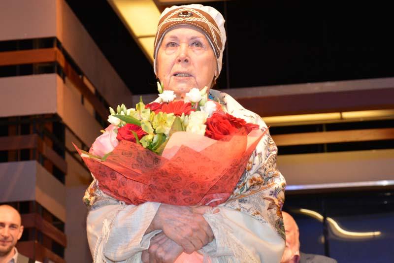 Людмила Гришина отметила 60-летие творческой деятельности